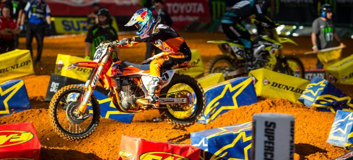 What did the riders had to say after the AMA Supercross in Minneapolis