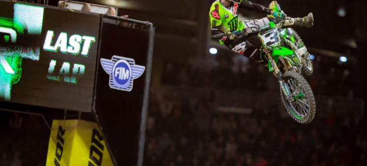 Watch the AMA Supercross in Foxborough live now for free