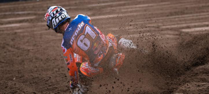 Movie: Spectacular crash of Jorge Prado in Valkenswaard