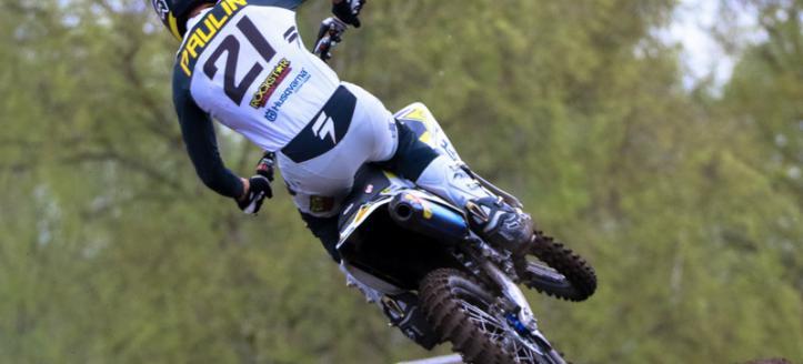 Gautier Paulin wins first MXGP moto in Valkenswaard