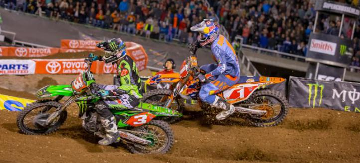Animated trackmap: AMA Supercross track East Rutherford