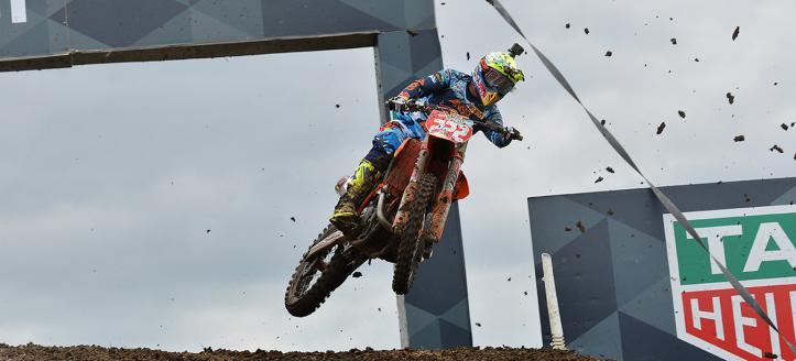 Antonio Cairoli wins second moto MXGP in Germany
