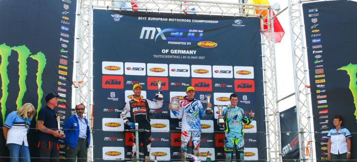 Anderson wins Season Opener in Germany