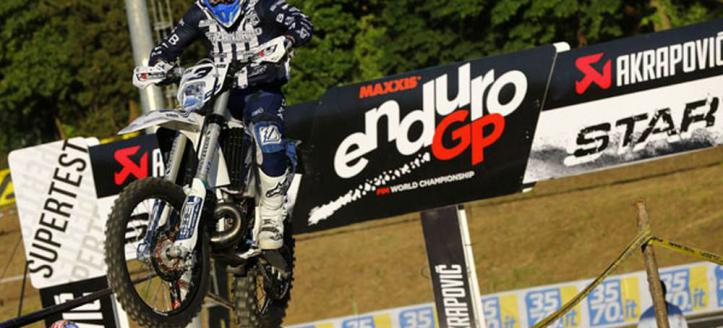 Movie: Mike Brown the fastest man in the superenduro test WEC Italy