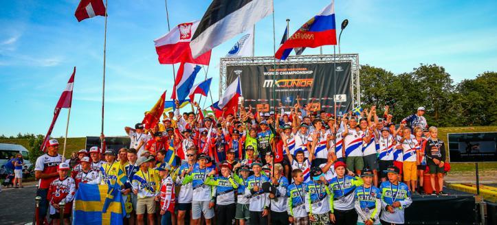 FIM Junior Motocross World Championship Revs Up