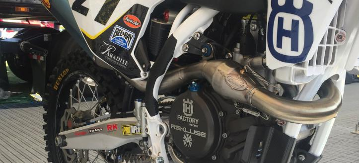 Rekluse Partners with Rockstar Energy Husqvarna Factory Racing for SX/MX