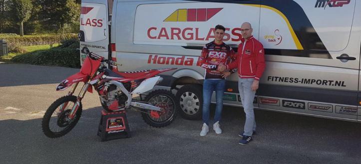 Freek van der Vlist to Carglass Honda Team For 2018