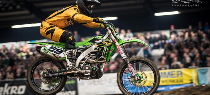 Tyler Bowers invaller binnen het Monster Energy Kawasaki team