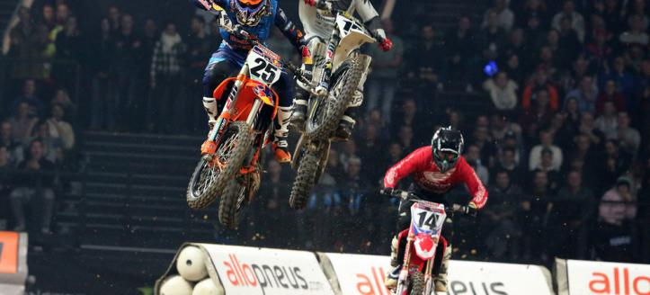 Full TV Coverage Supercross Paris on Saturday