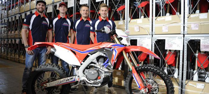 All Change at Honda RedMoto