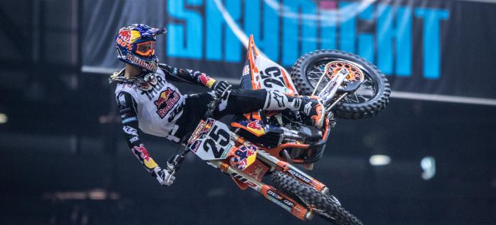 Factory KTM ready for 2018 Supercross