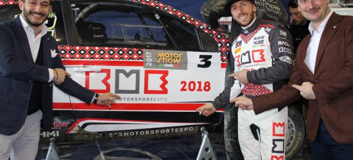 Tony Cairoli at Bologna Motorshow with BME