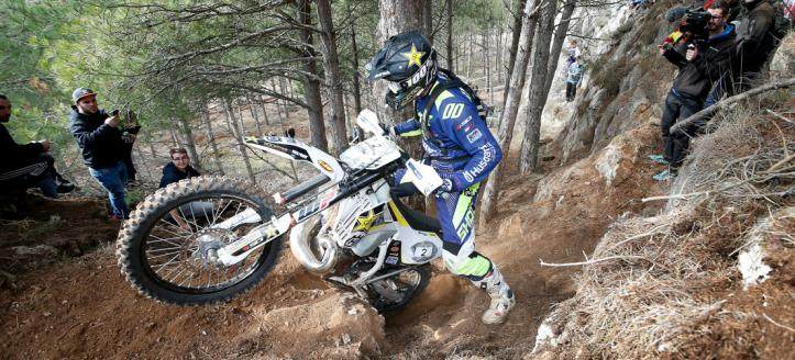 Graham Jarvis wint Ales Trem Extreme Enduro
