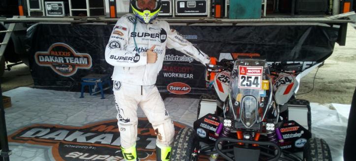 Bastiaan Nijen Twilhaar goed gemutst naar de finale