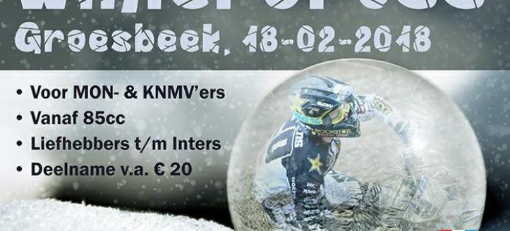 Schrijf je in voor de Wintercross in Groesbeek