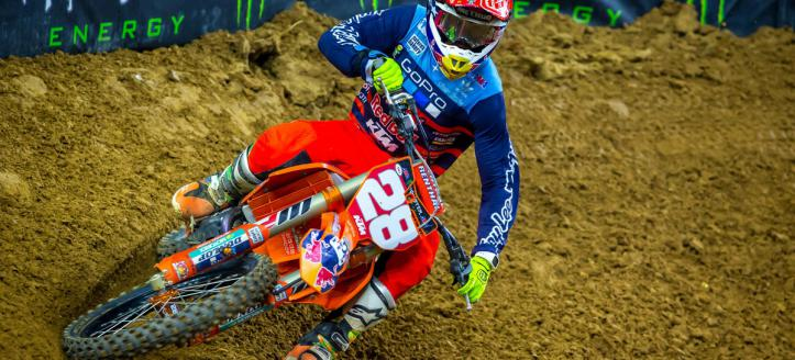 Movie: The best onboard actions of the AMA Supercross in Houston