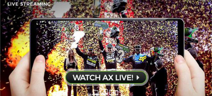 POWER MAXED ARENACROSS LAUNCHES LIVE FEED