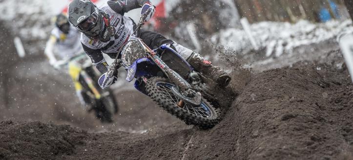 Wilvo Yamaha MXGP vecht hard in Valkenswaard