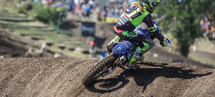 Wilvo Yamaha MXGP pakt Teutschenthal aan